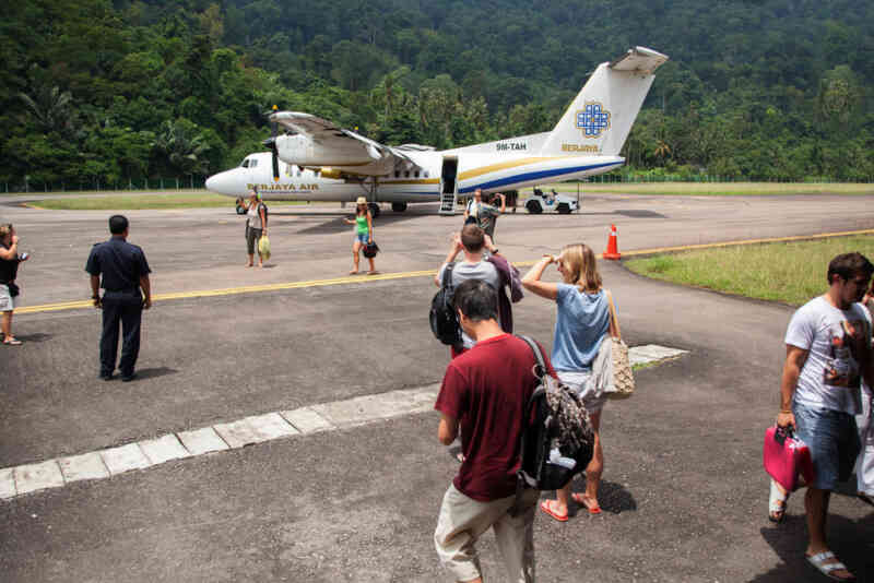 Fly to Tioman from Singapore